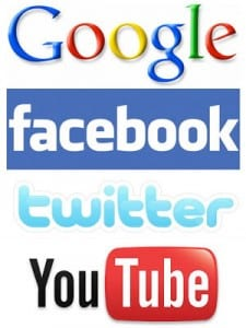 Google Facebook Twitter Youtube