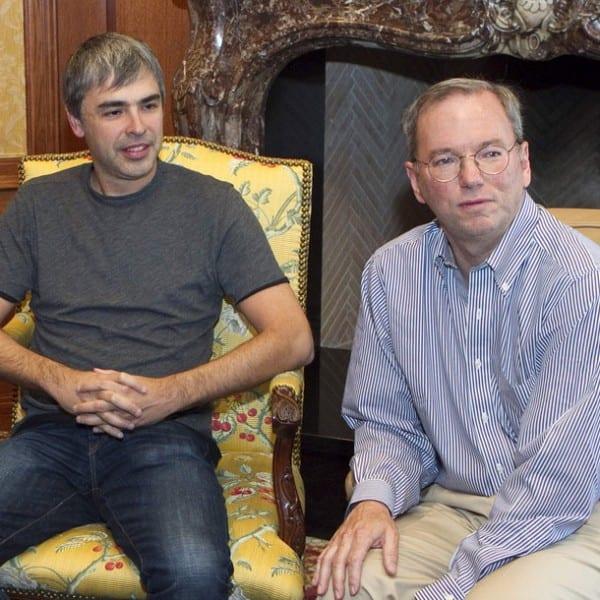 Eric Schmidt, Larry Page, Sergei Brin